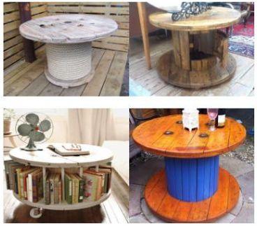 Tafels zelf maken van steigerplanken of pallets for Zelf meubels maken van hout